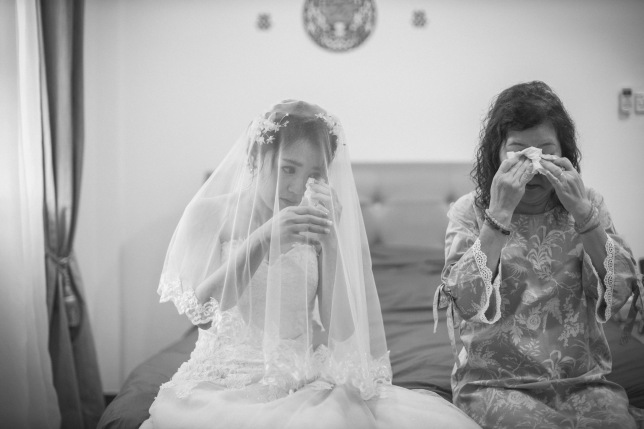 Mother & bride moments